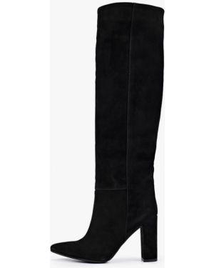 Ботинки на каблуке черные осенние Gresco