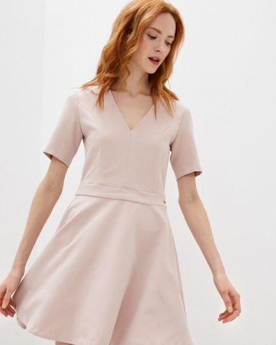 Повседневное розовое платье Trussardi