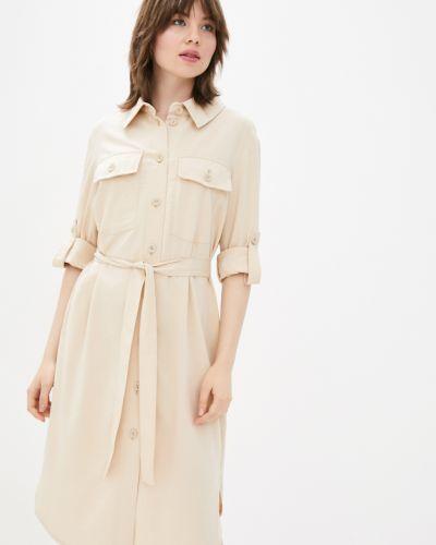 Платье рубашка - бежевое Danna