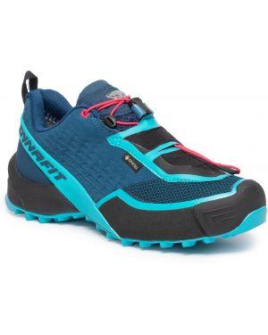 Buty sportowe zamszowe granatowe Dynafit