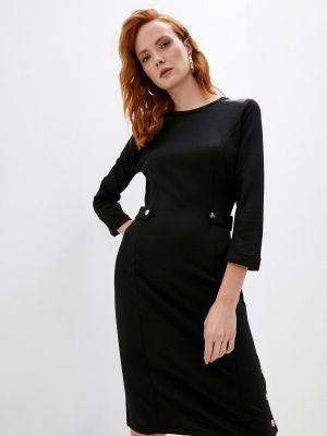 Черное зимнее платье Liu Jo Sport