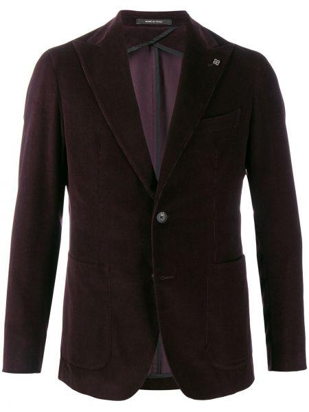 Пиджак вельветовый с карманами Tagliatore