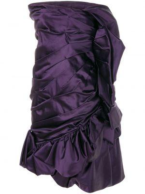 Приталенное платье винтажное с драпировкой без рукавов Christian Lacroix Pre-owned