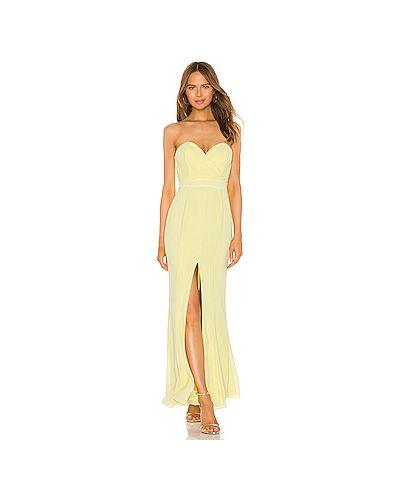 Вечернее платье на молнии шифоновое Majorelle