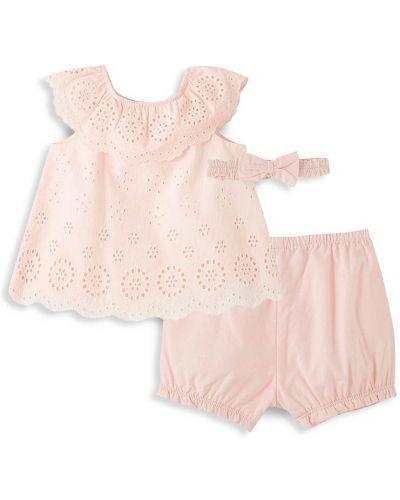 Tunika krótki rękaw - różowa Little Me