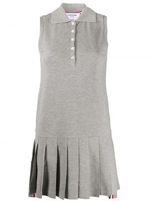 Текстильное теннисное платье без рукавов Thom Browne