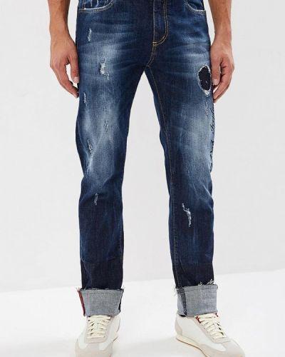 Синие прямые джинсы Ice Play