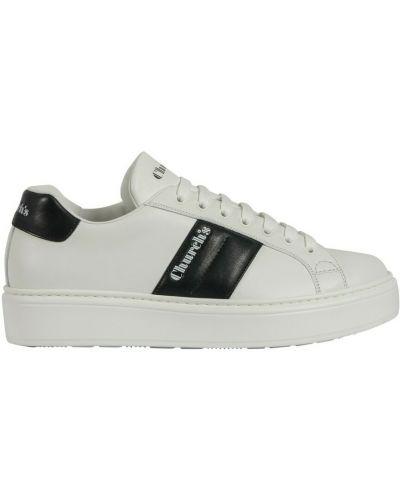 Białe sneakersy Churchs