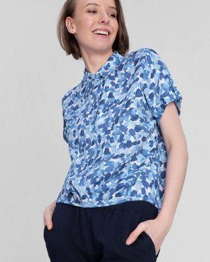 Синяя блузка O'stin