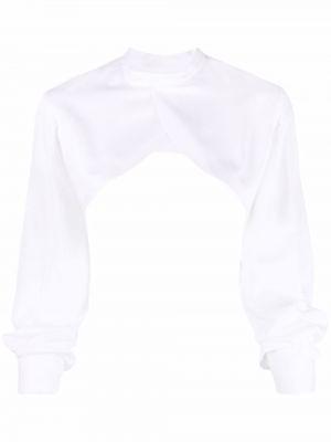 Длинная рубашка - белая Comme Des Garçons Noir Kei Ninomiya