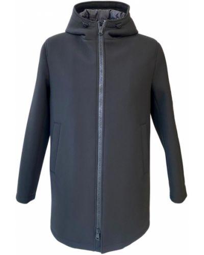 Płaszcz z kapturem od płaszcza przeciwdeszczowego z zamkiem błyskawicznym Herno