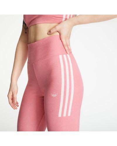 Różowe rajstopy Adidas Originals