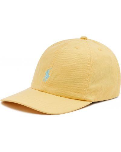 Żółta czapka z daszkiem Polo Ralph Lauren