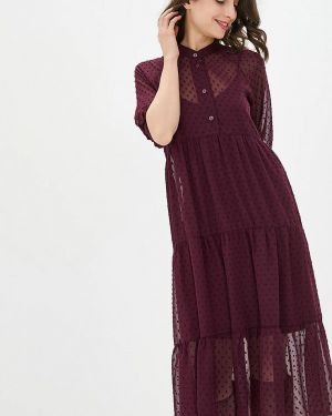 Бордовое вечернее платье Lilove