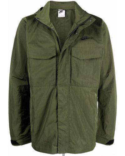 Длинная куртка - зеленая Nike