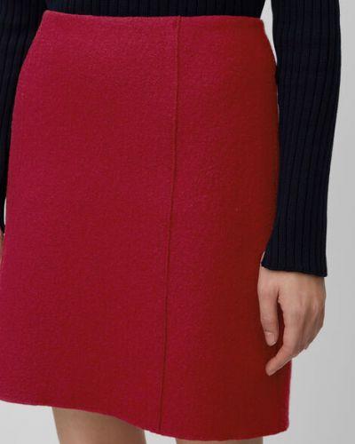 Klasyczna spódnica mini wełniana Marc O Polo