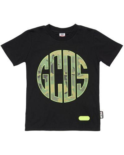 Bawełna bawełna czarny koszula Gcds