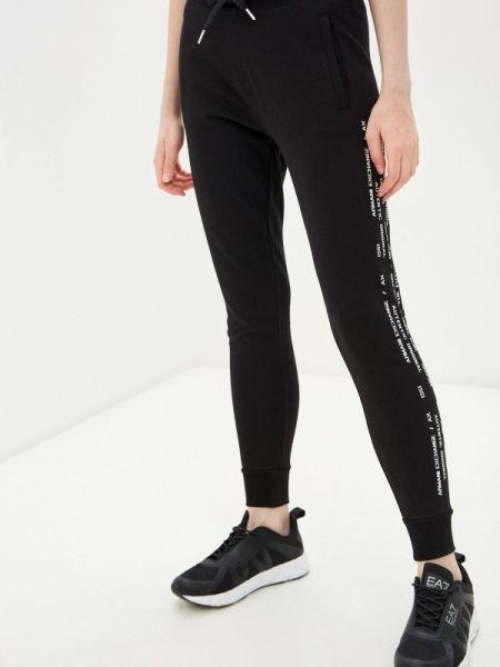 Спортивные брюки черные весенний Armani Exchange