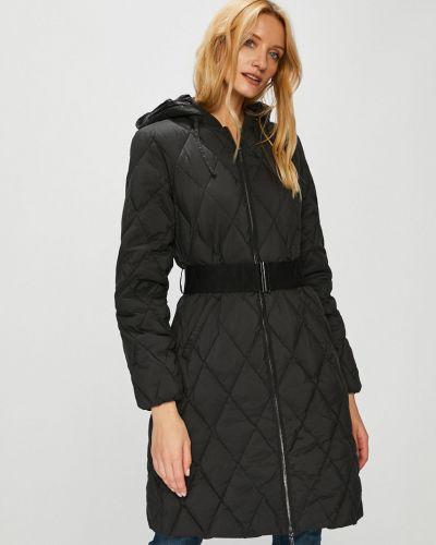 Стеганая куртка утепленная с капюшоном Armani Exchange