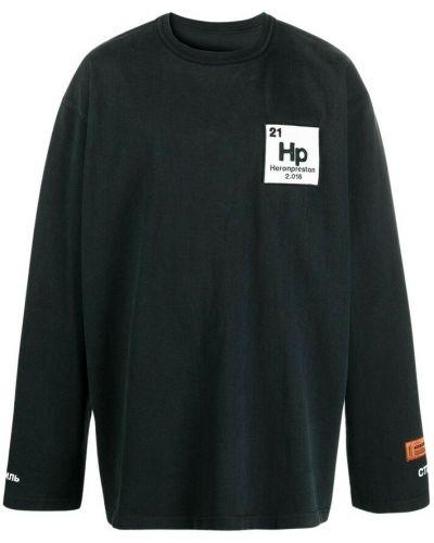 T-shirt - czarna Heron Preston