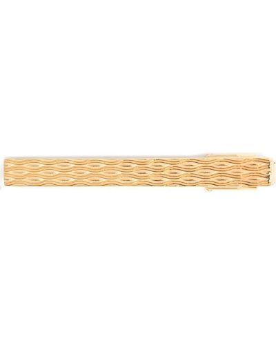 Złoty krawat Lanvin