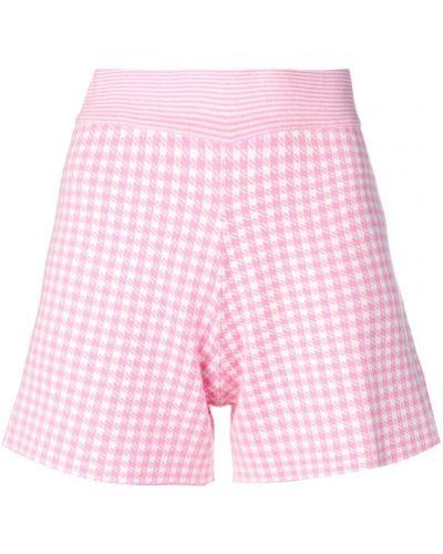 Однобортные розовые шорты Philo-sofie