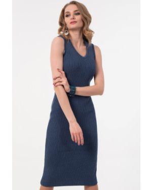 Джинсовое платье платье-сарафан с вырезом Wisell