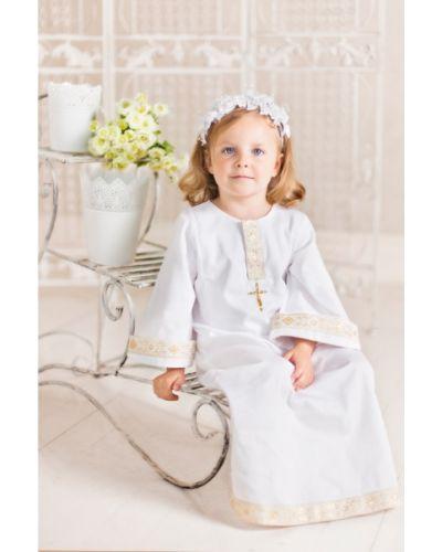 Рубашка белый крестильный ангел мой