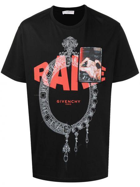 Bawełna bawełna czarny koszula Givenchy