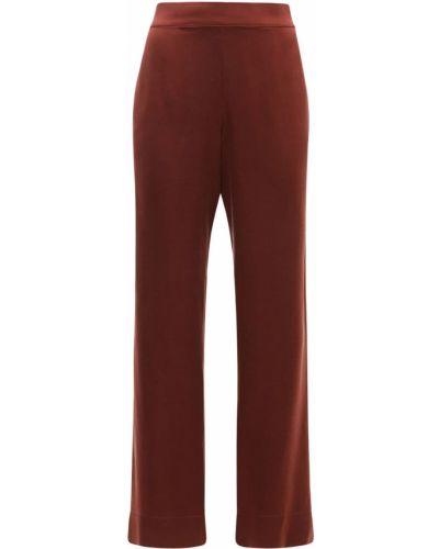 Пижамная красная шелковая пижама Asceno