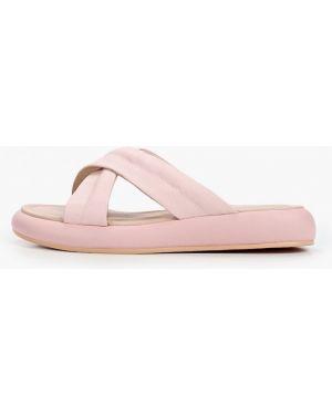 Сабо кожаные розовый Just Couture