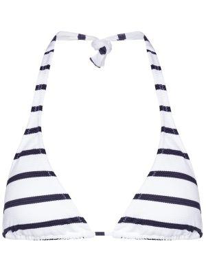 Белый топ в полоску в морском стиле Melissa Odabash