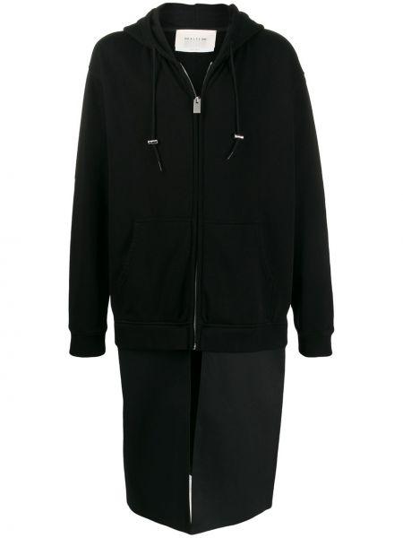 Черное пальто с капюшоном 1017 Alyx 9sm
