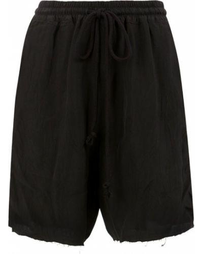 Черные шорты с карманами Song For The Mute