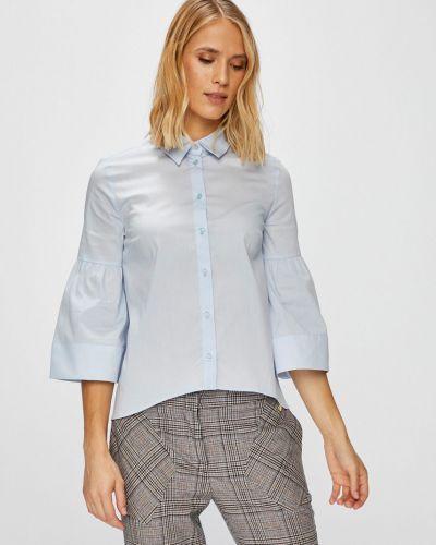 Блузка с длинным рукавом прямая на пуговицах Trussardi Jeans