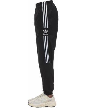 Брюки с поясом на кнопках Adidas Originals