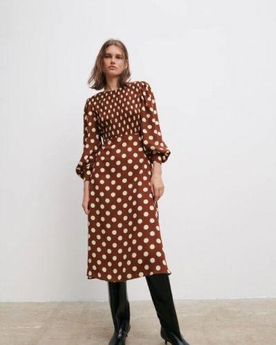 Платье с длинными рукавами Zara