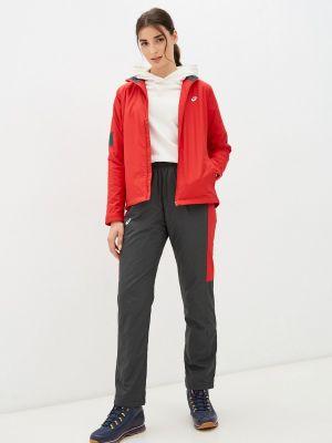 Спортивный красный спортивный костюм Asics