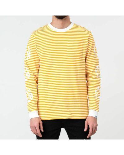 Клубная желтая рубашка с нашивками Billionaire Boys Club