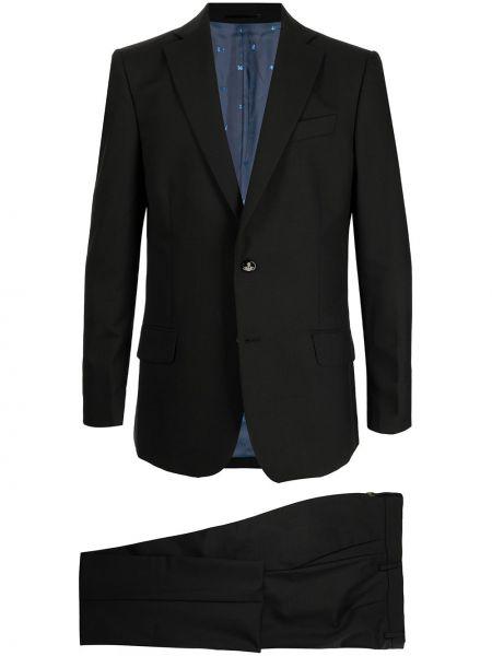 Черный шерстяной костюм Vivienne Westwood