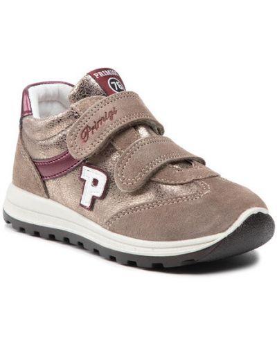 Beżowe sneakersy Primigi