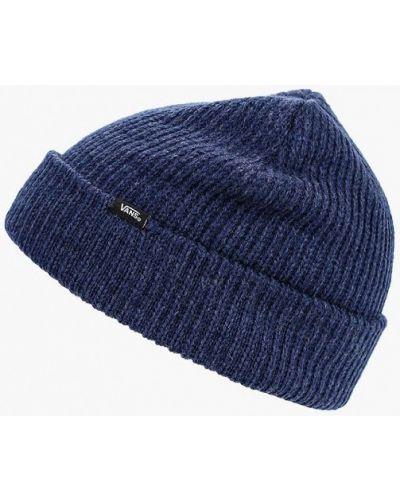 Синяя шапка осенняя Vans