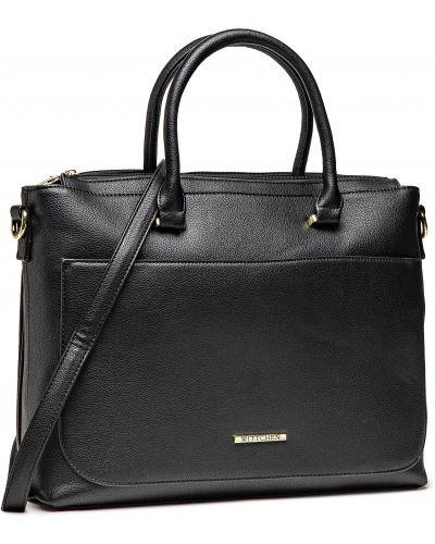 Klasyczna torebka - czarna Wittchen