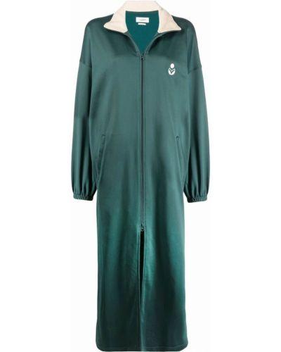 Зеленое пальто длинное Isabel Marant étoile