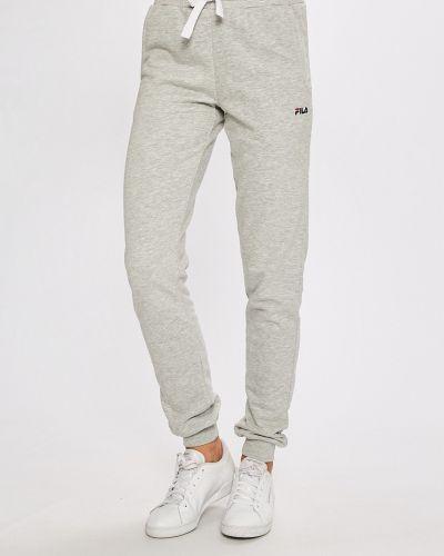Спортивные брюки на резинке прямые Fila
