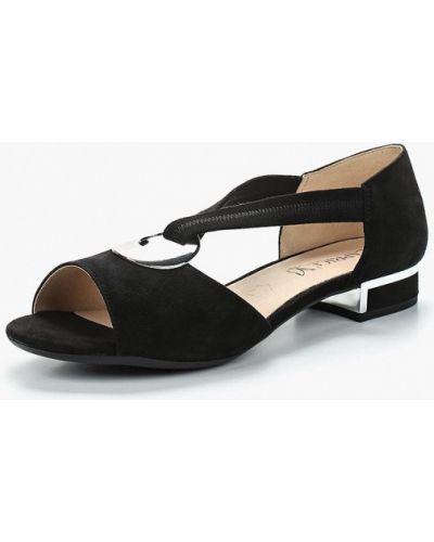 Черные сандалии Caprice
