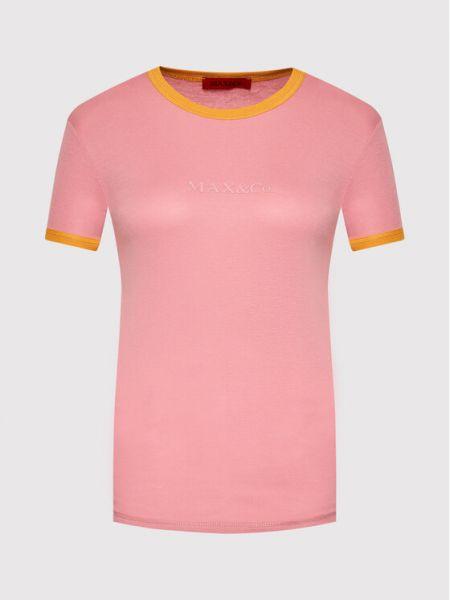 T-shirt - różowa Max&co.