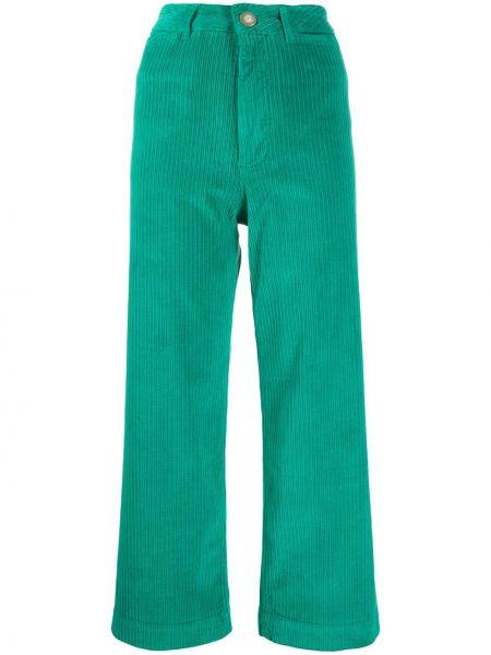 Свободные брюки вельветовые с поясом Masscob