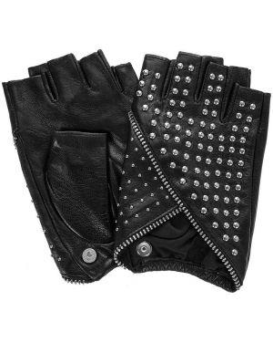 Митенки кожаные Karl Lagerfeld