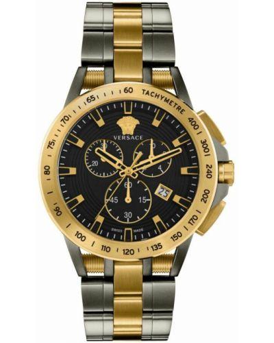 Zegarek sportowy - żółty Versace